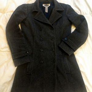 Old Navy wool peacoat sz XS